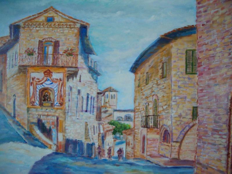 Assisi vicolo