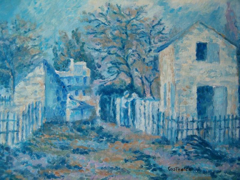 Il villaggio di Voisins di A. Sysley (Copia)