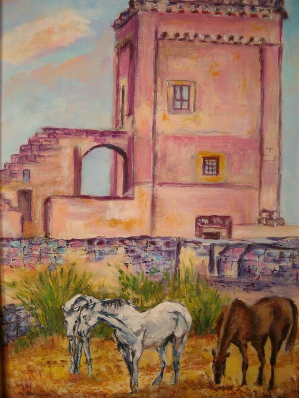 Masseria con cavalli