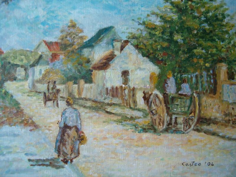 Strada a Pointoise di C. Pissarro (copia)