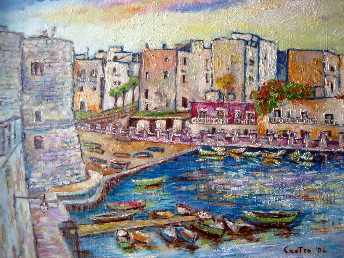 Porto di Giovinazzo (BA) 2004
