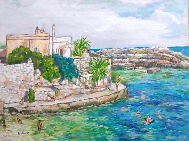 Spiaggia Cala paura Polignano a mare (BA) '19